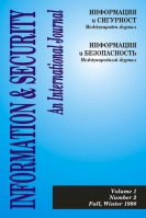 Information & Security (cover)